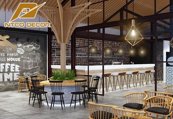 Công ty nội thất thiết kế quán trà sữa - Thiết kế quán cafe ở tphcm