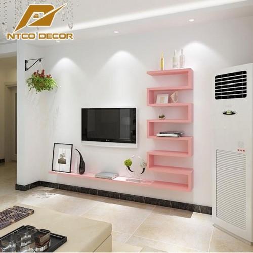 Kệ Tivi treo tường trang trí (đủ màu) KTV126-7